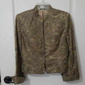 Kay Unger Sequin Jacket 4